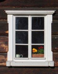 zweiflügliges Fenster