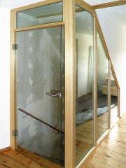 Treppenaufgang aus Glas