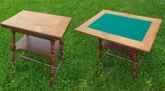 Spieltisch aus Eiche