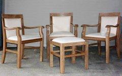 Sitzgruppe in Eiche
