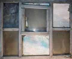 Historisches Schiebefenster