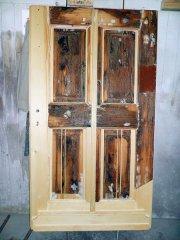 Barocke restaurierte Haustür